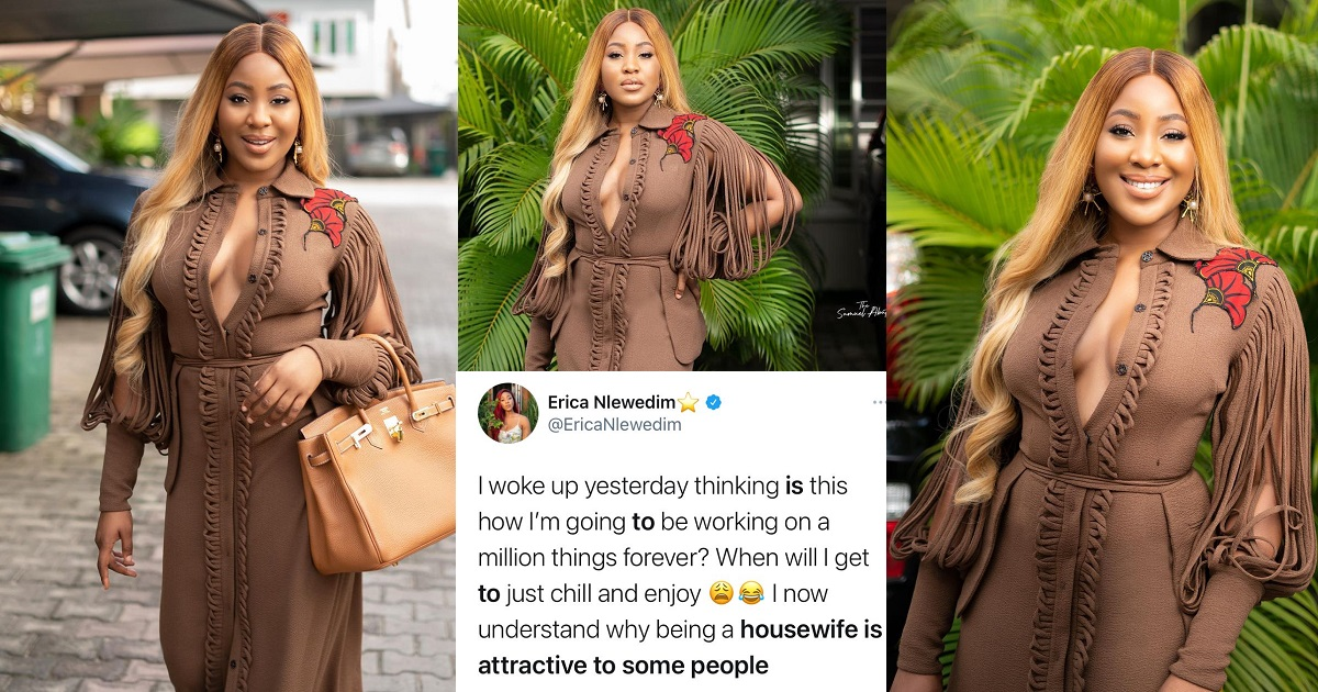 Reality star, Erica comes under fire after she said she 'now understands  why being a housewife is attractive to some people' - YabaLeftOnline