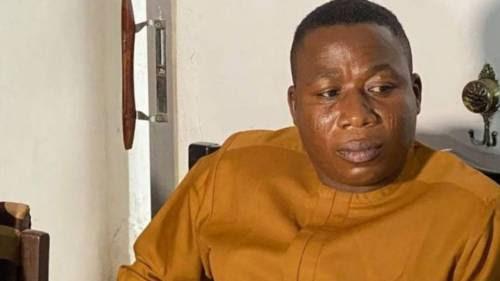 Sunday Igboho Rushed To Hospital For Renal Problem